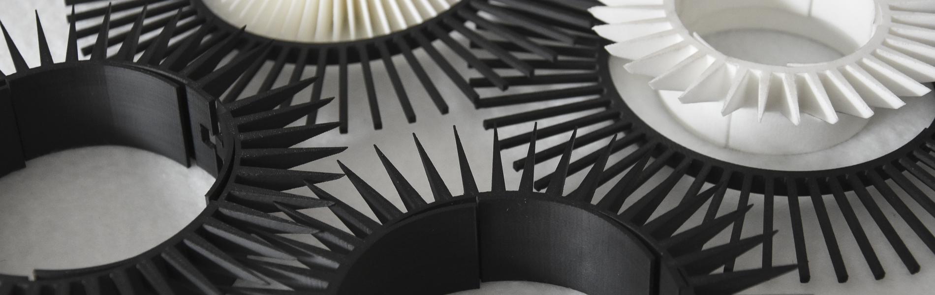 Additve manufactured winding pins